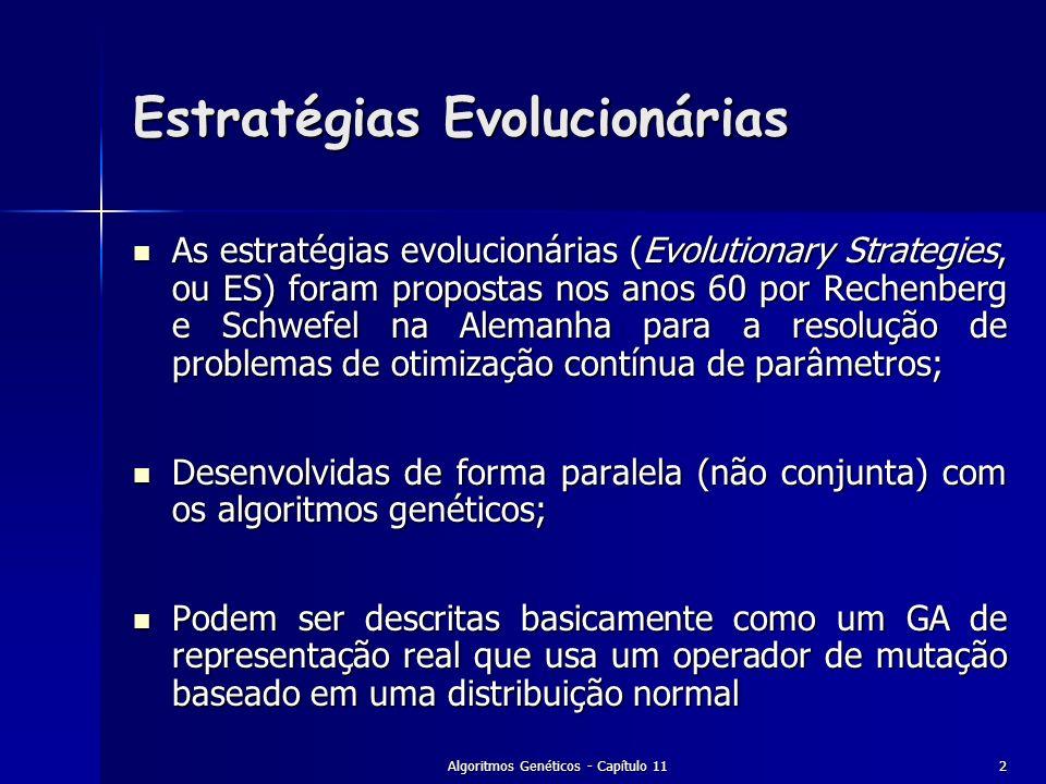 Estratégias Evolucionárias