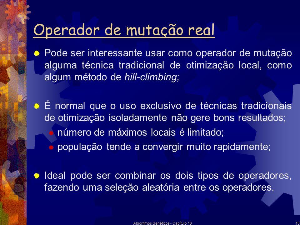 Operador de mutação real