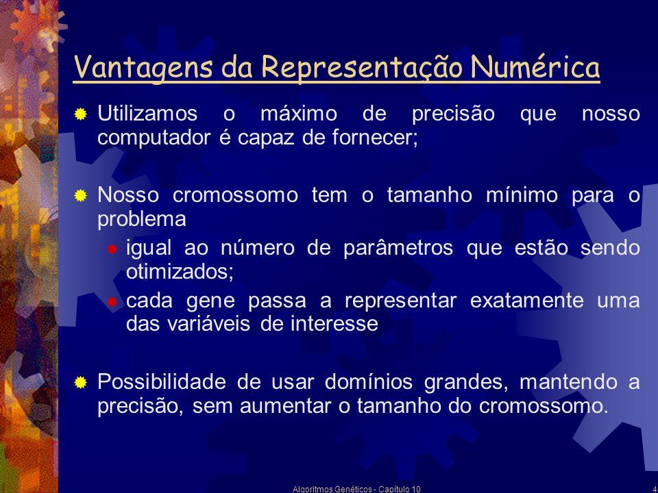 Vantagens da Representação Numérica