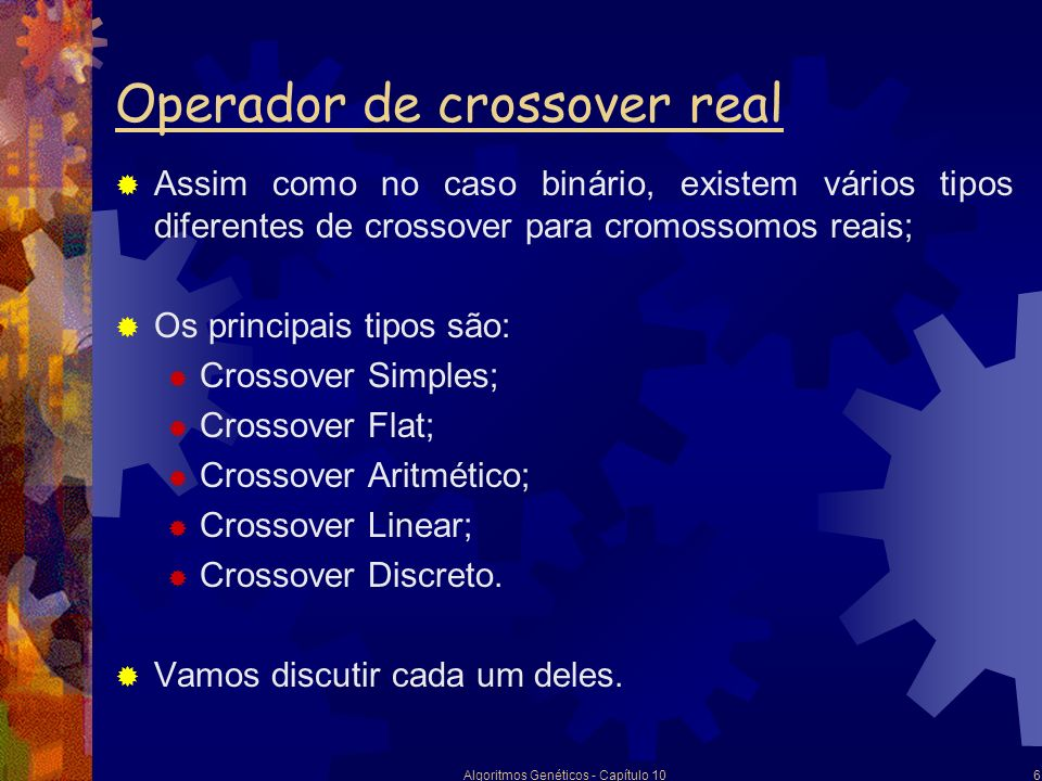 Operador de crossover real