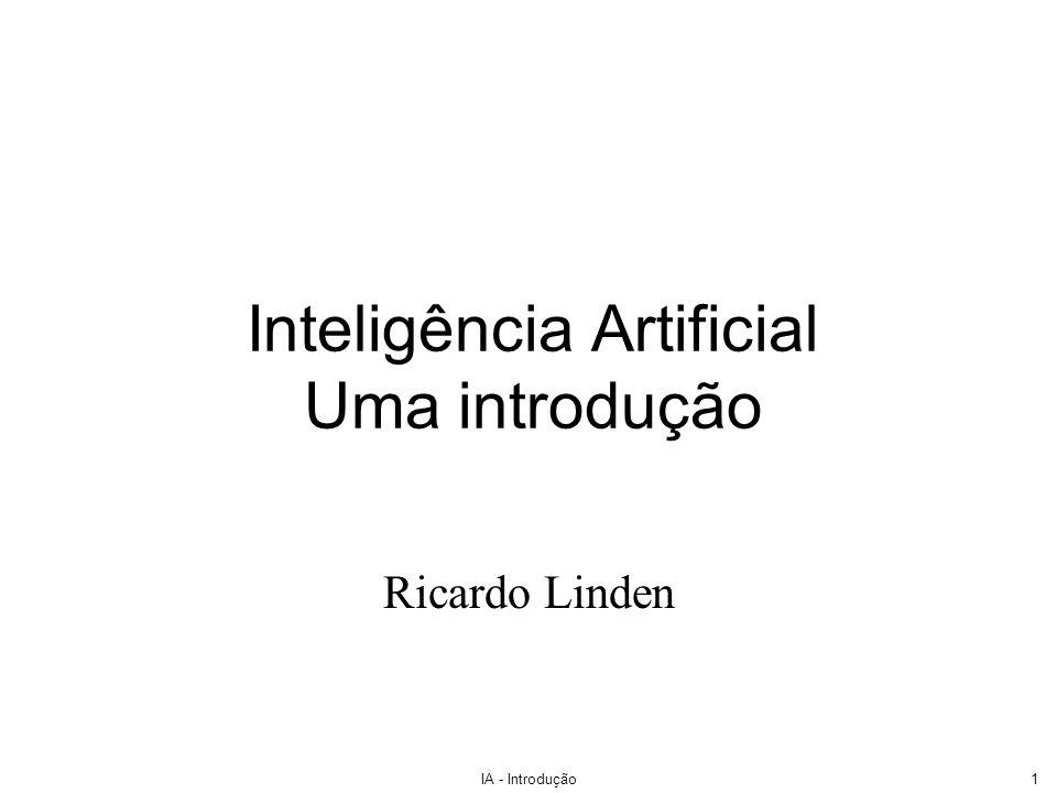 Inteligência Artificial Uma introdução