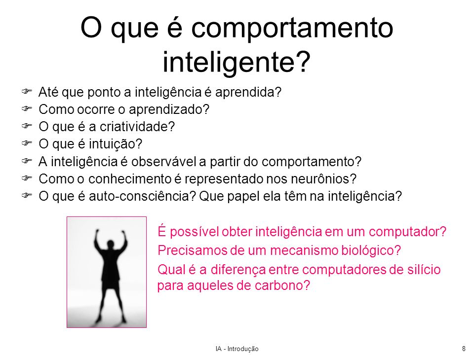 O que é comportamento inteligente