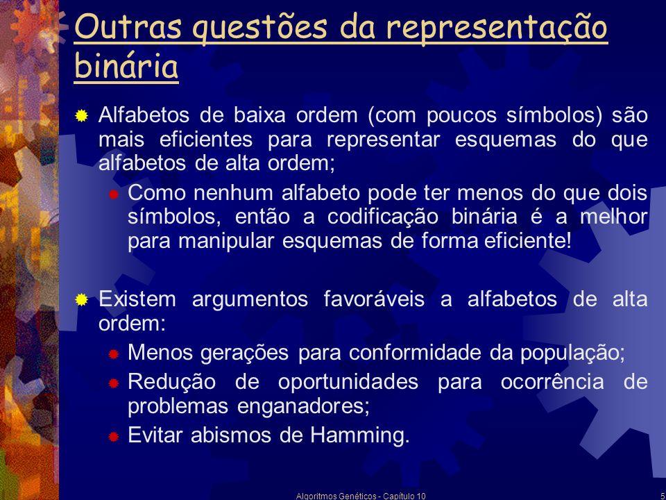 Outras questões da representação binária