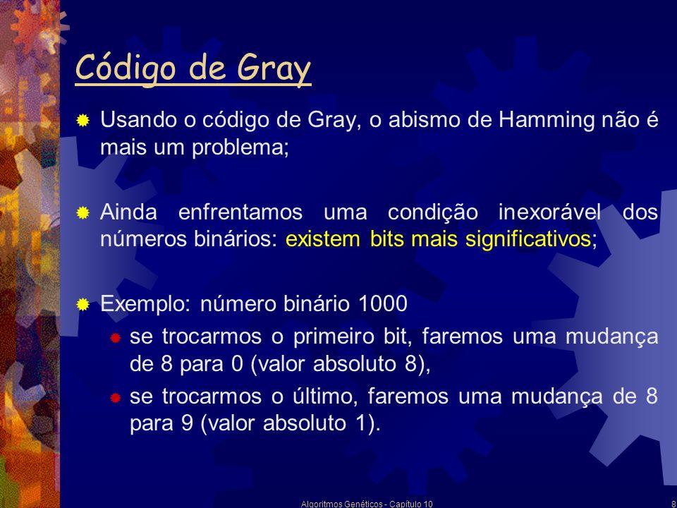 Algoritmos Genéticos - Capítulo 10