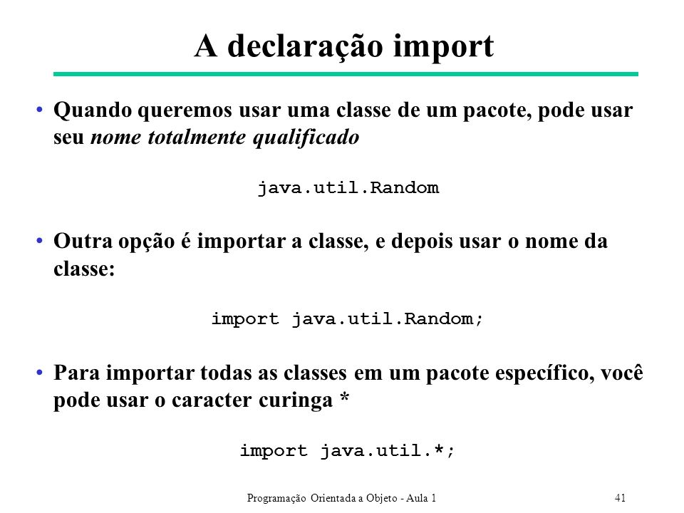 import java.util.Random;