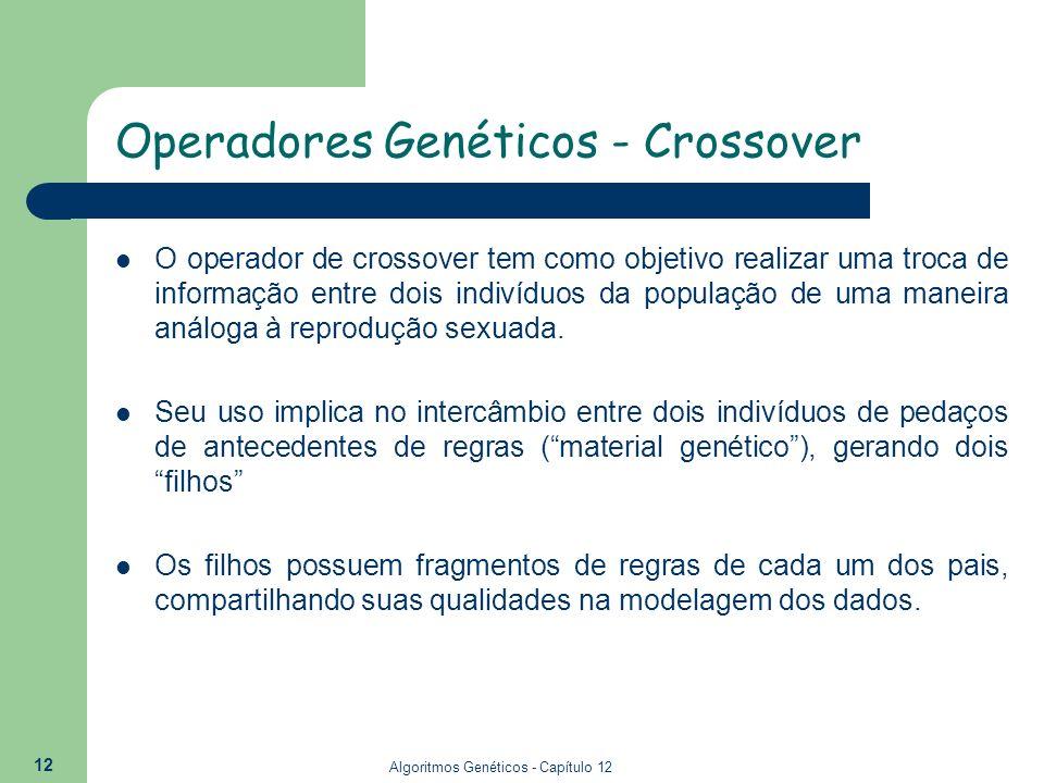 Operadores Genéticos - Crossover