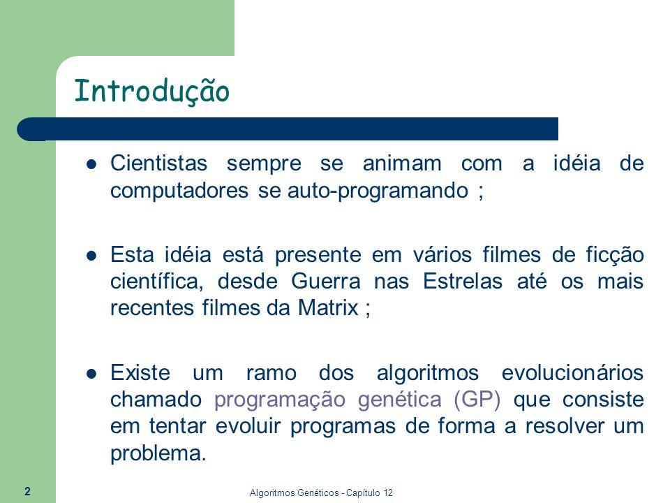 Algoritmos Genéticos - Capítulo 12