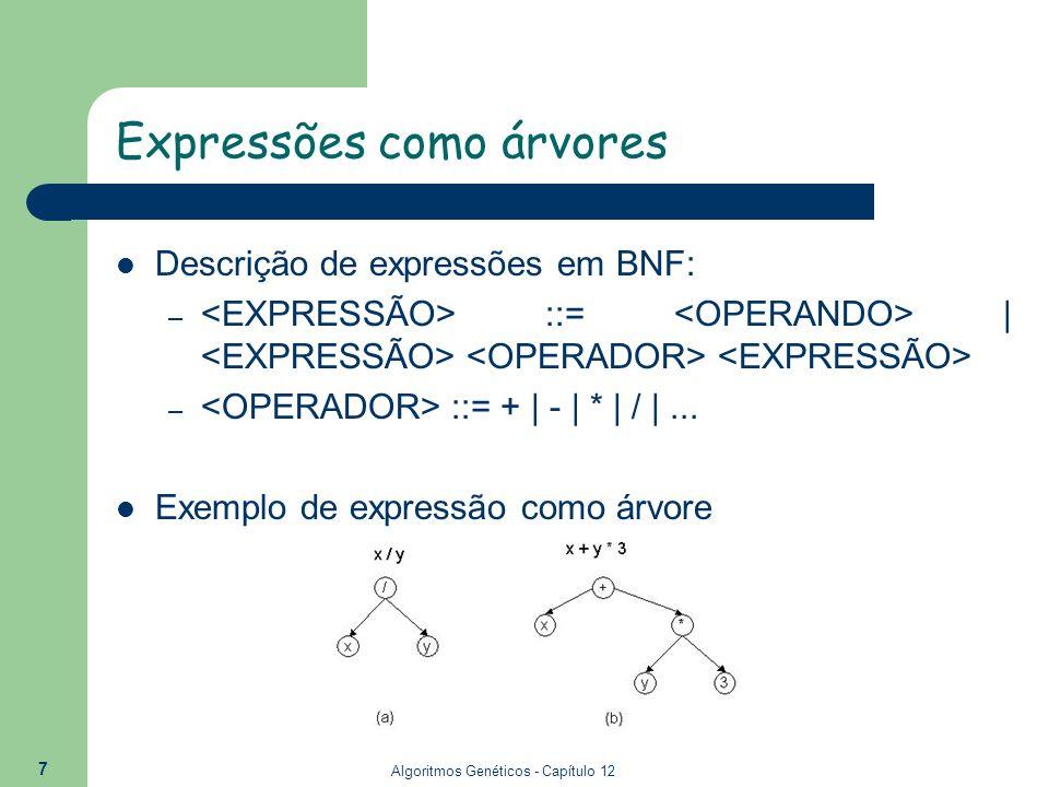 Expressões como árvores