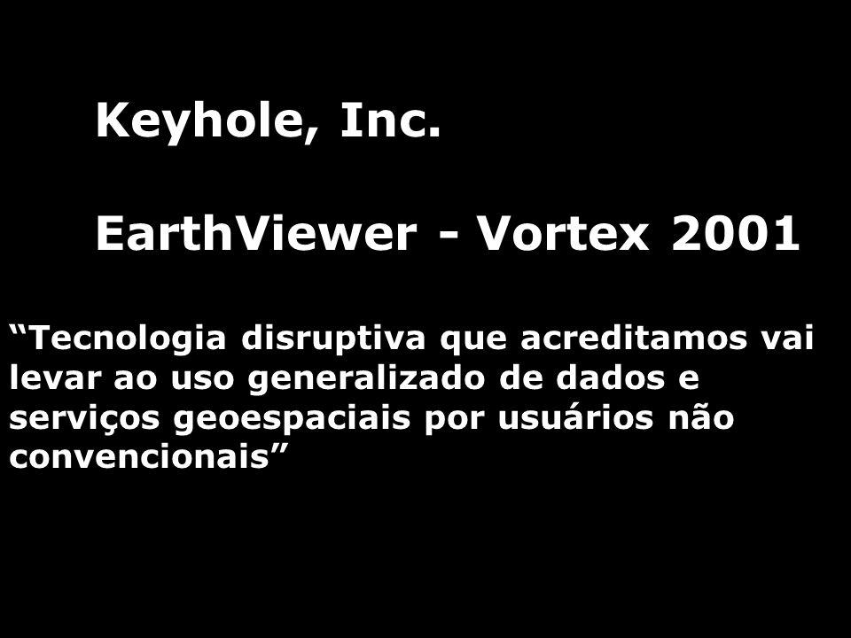 Keyhole, Inc. EarthViewer - Vortex 2001