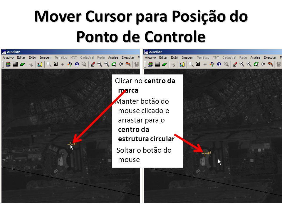 Mover Cursor para Posição do Ponto de Controle