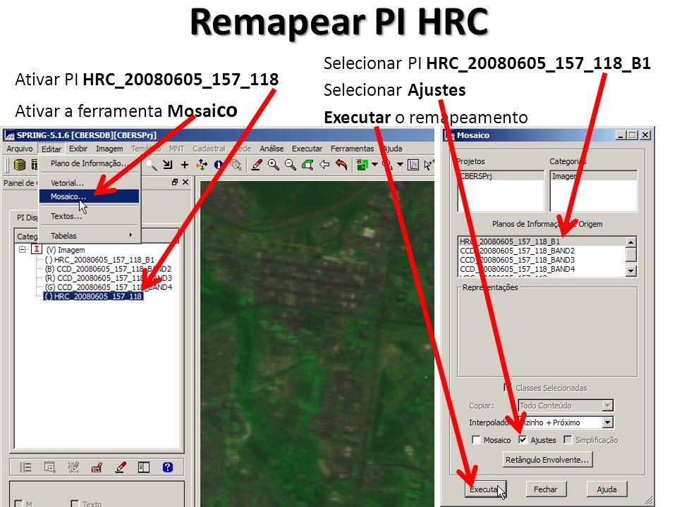 Remapear PI HRC Selecionar PI HRC_20080605_157_118_B1