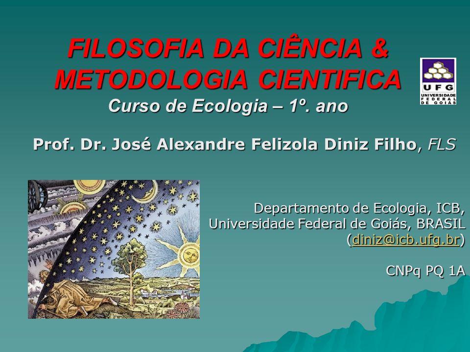 FILOSOFIA DA CIÊNCIA & METODOLOGIA CIENTIFICA
