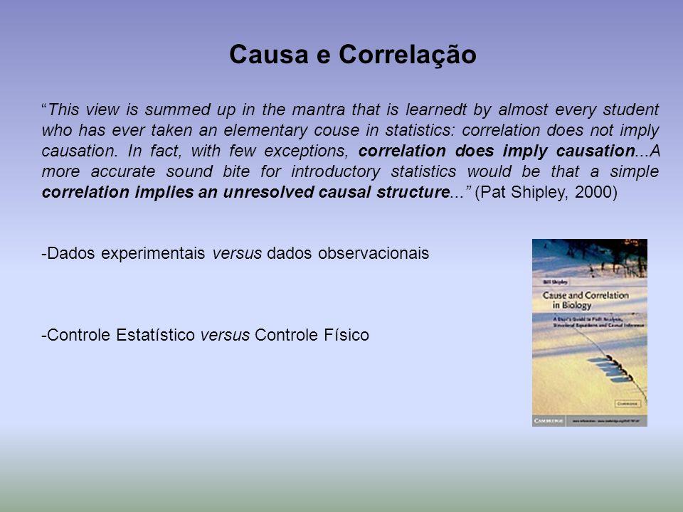 Causa e Correlação