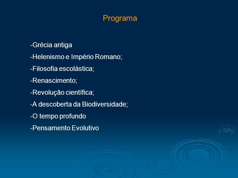 Programa Grécia antiga Helenismo e Império Romano;