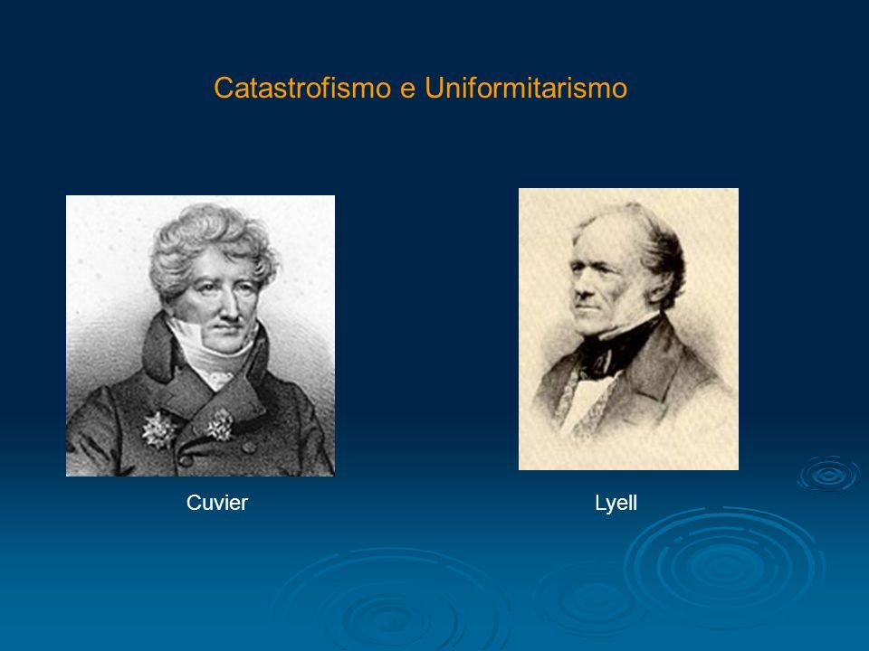 Catastrofismo e Uniformitarismo