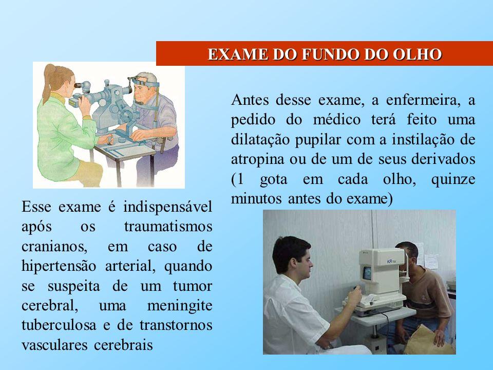 EXAME DO FUNDO DO OLHO