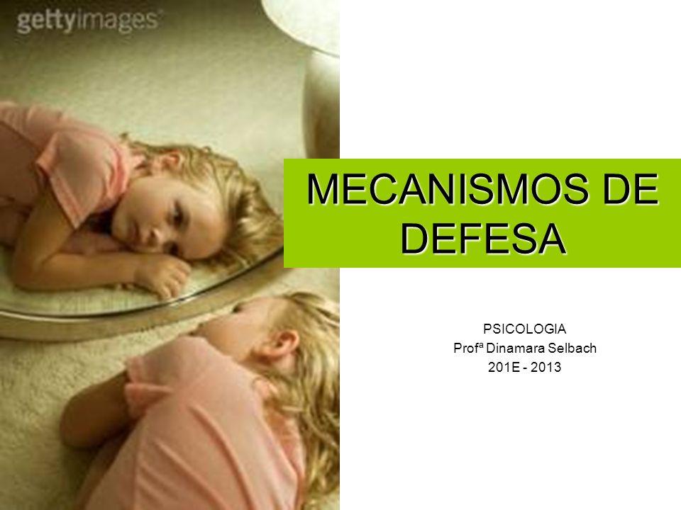 PSICOLOGIA Profª Dinamara Selbach 201E - 2013