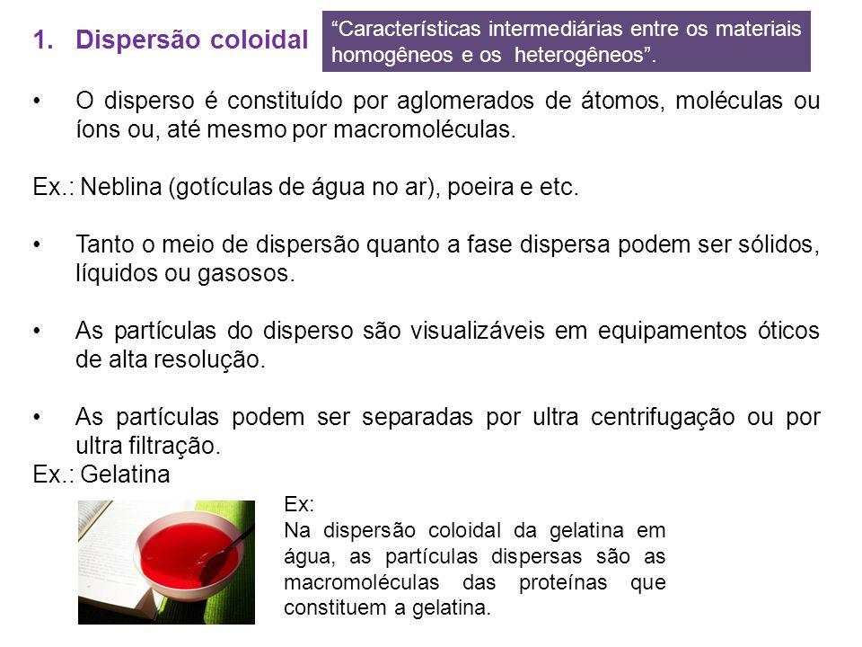 Características intermediárias entre os materiais homogêneos e os heterogêneos .
