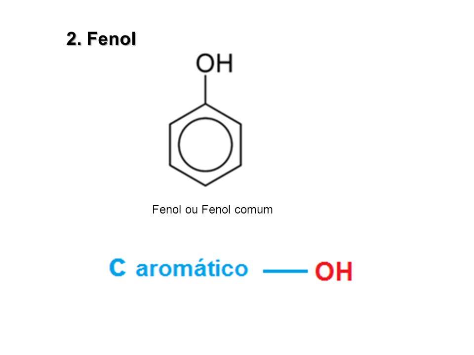 2. Fenol Fenol ou Fenol comum