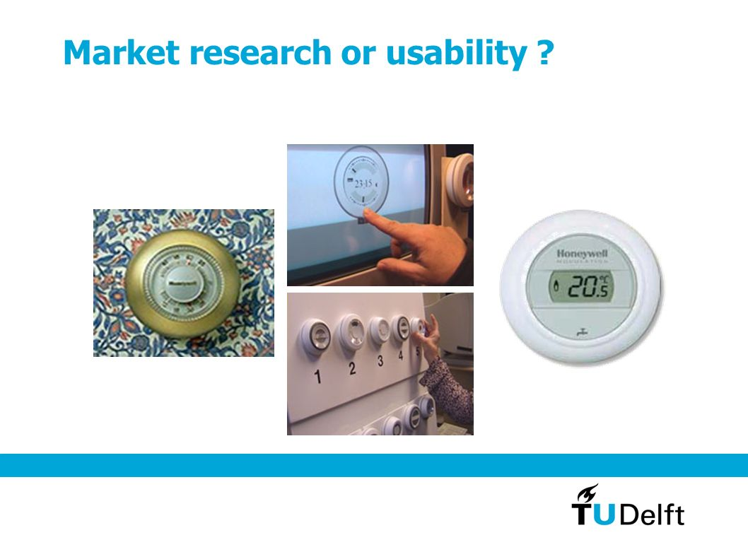 Market research or usability