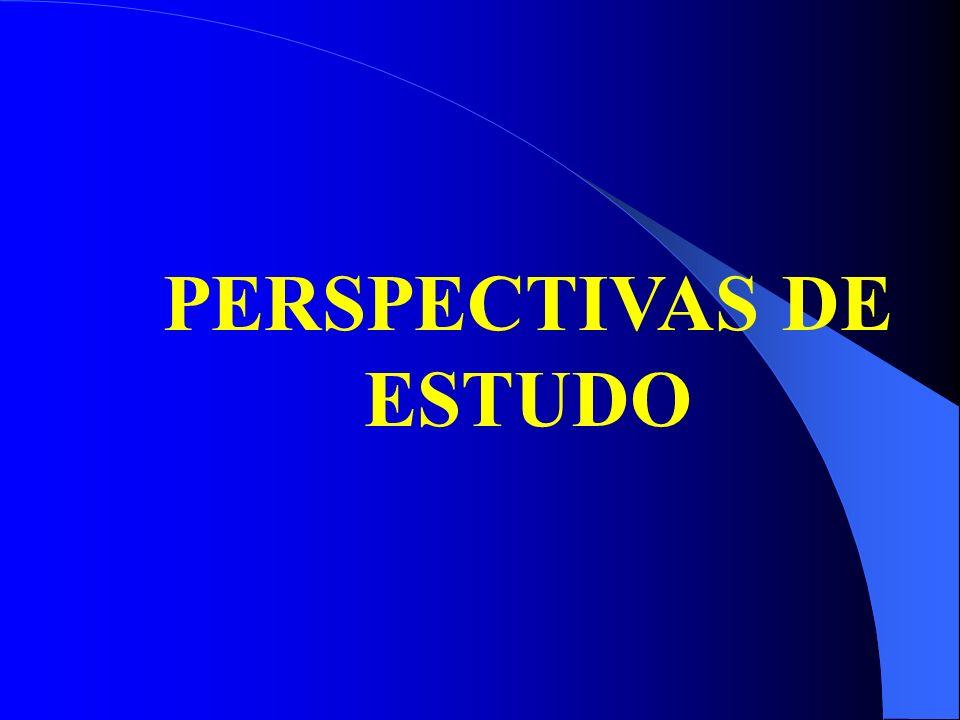 PERSPECTIVAS DE ESTUDO