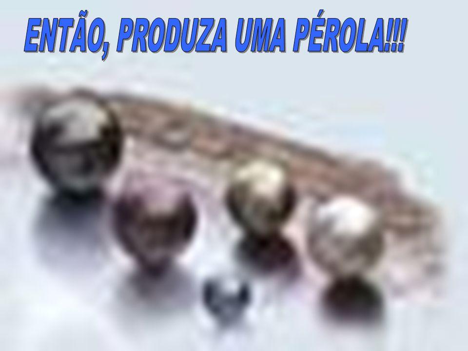 ENTÃO, PRODUZA UMA PÉROLA!!!