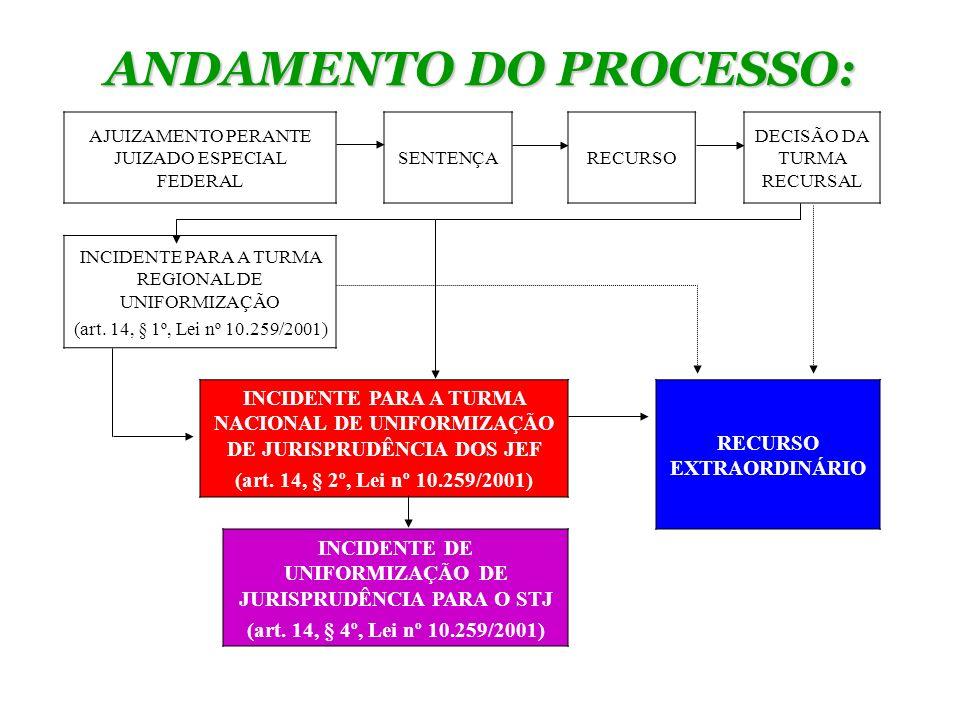 ANDAMENTO DO PROCESSO: