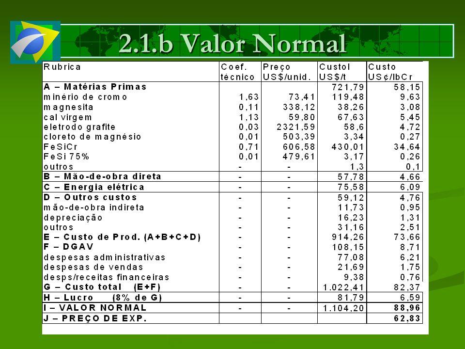 2.1.b Valor Normal