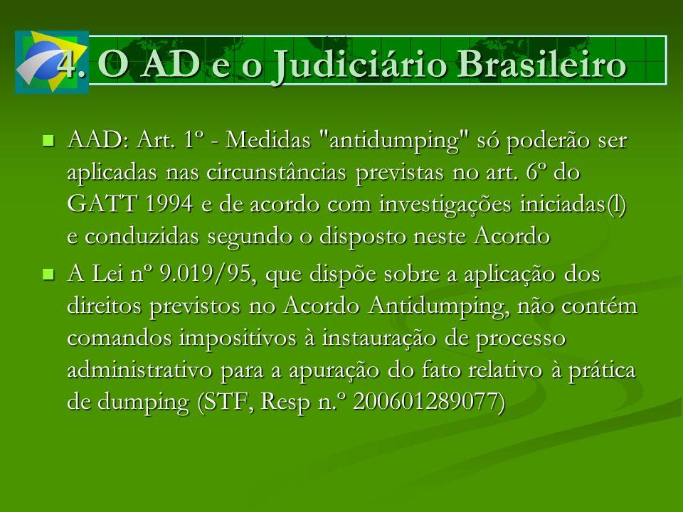 4. O AD e o Judiciário Brasileiro