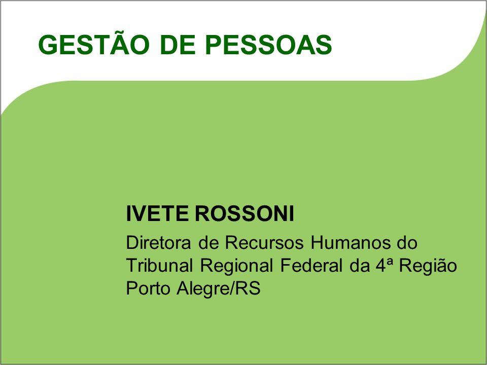 GESTÃO DE PESSOAS IVETE ROSSONI