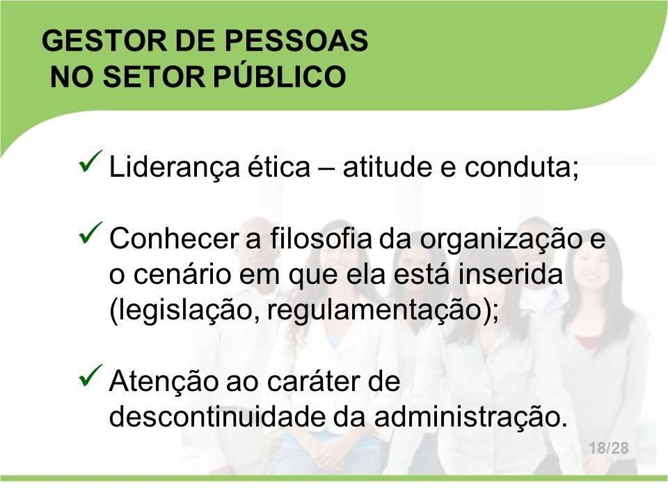 GESTOR DE PESSOAS NO SETOR PÚBLICO