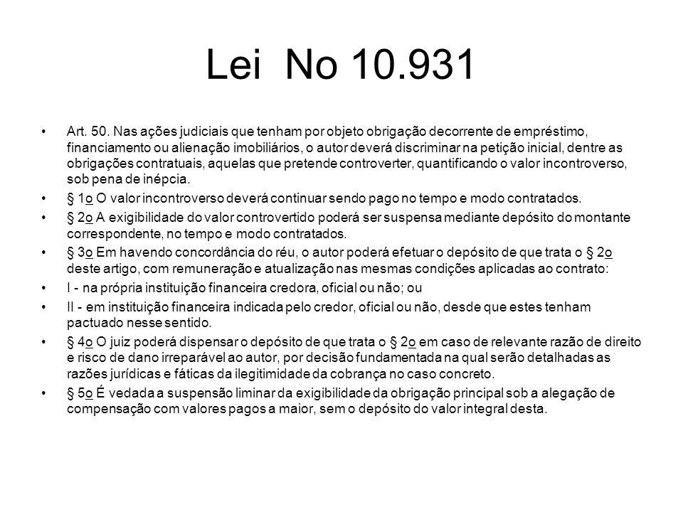 Lei No 10.931