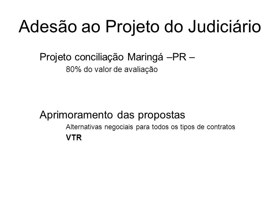 Adesão ao Projeto do Judiciário