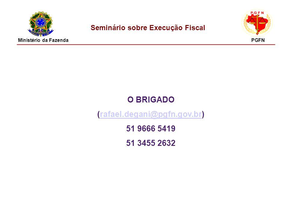 Seminário sobre Execução Fiscal (rafael.degani@pgfn.gov.br)