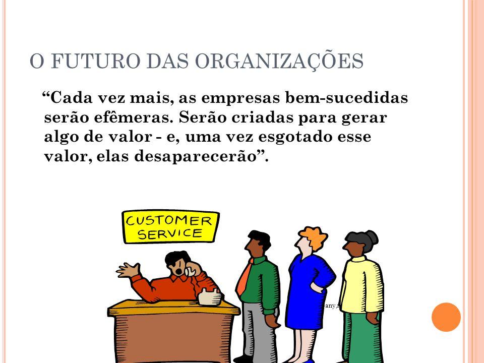 O FUTURO DAS ORGANIZAÇÕES