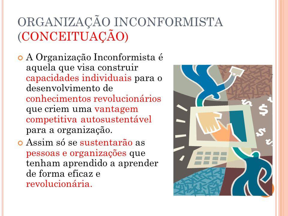 ORGANIZAÇÃO INCONFORMISTA (CONCEITUAÇÃO)