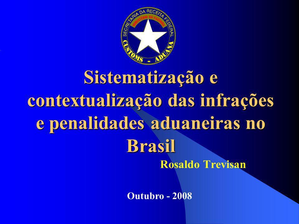 Sistematização e contextualização das infrações e penalidades aduaneiras no Brasil