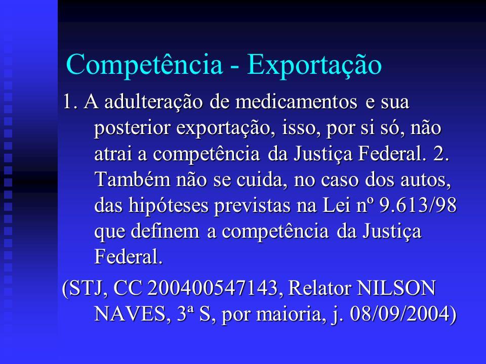 Competência - Exportação