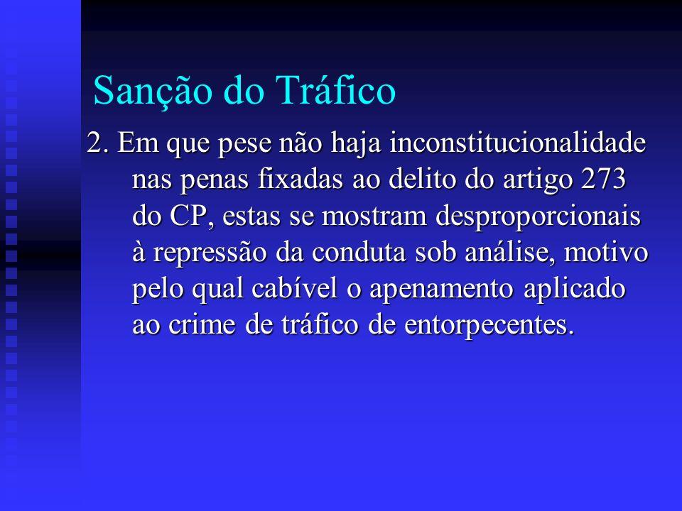Sanção do Tráfico