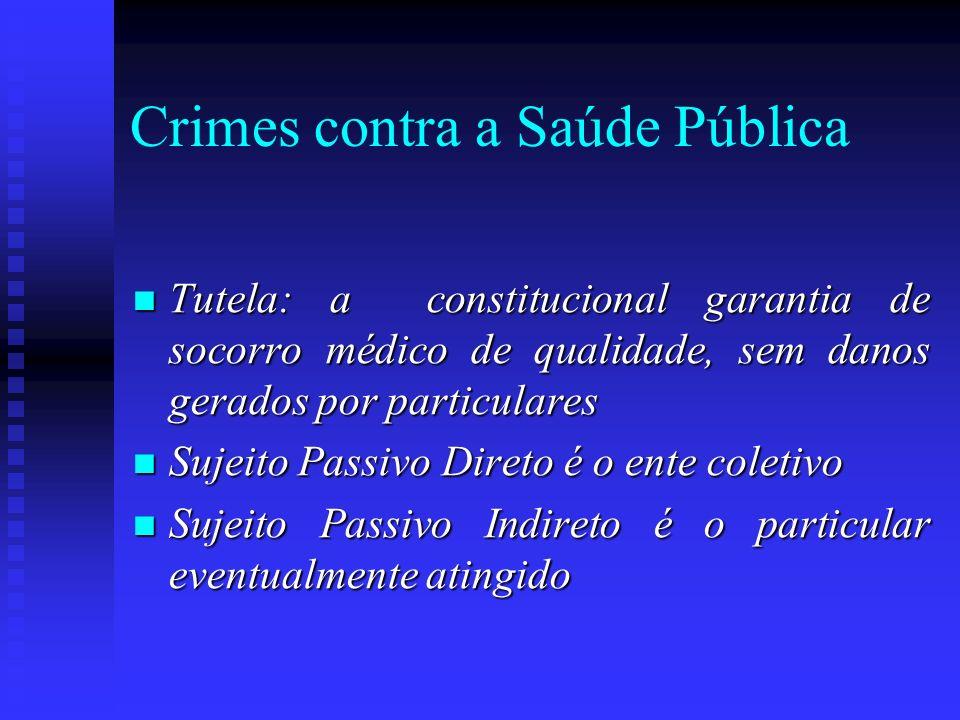 Crimes contra a Saúde Pública