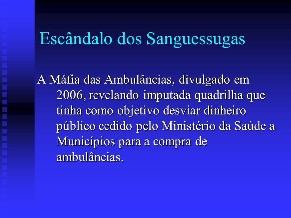 Escândalo dos Sanguessugas