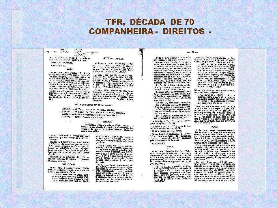 COMPANHEIRA - DIREITOS -