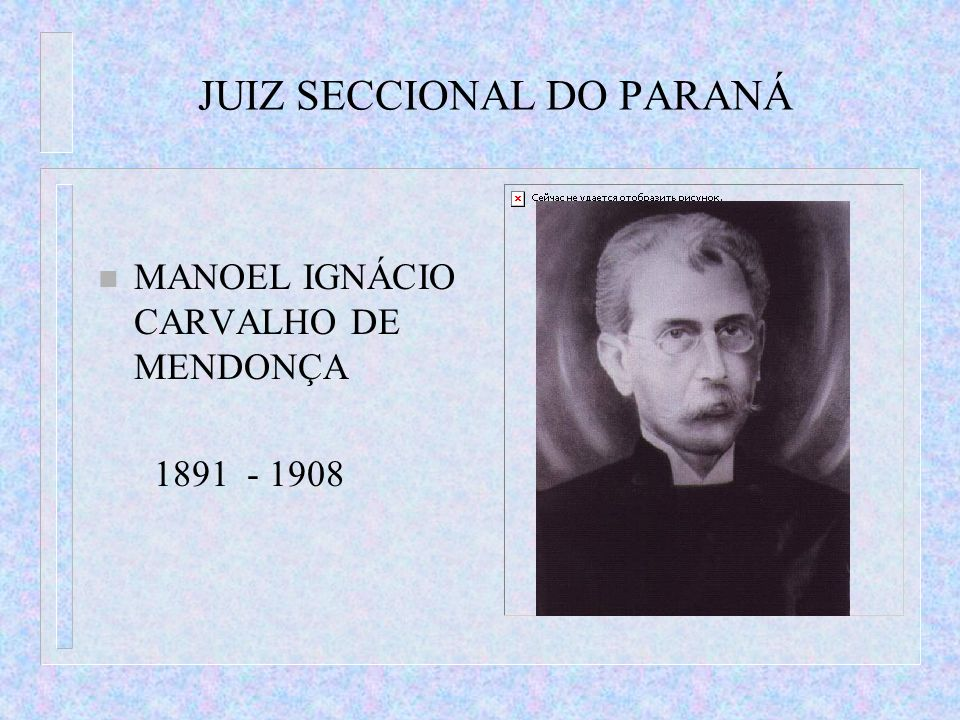 JUIZ SECCIONAL DO PARANÁ