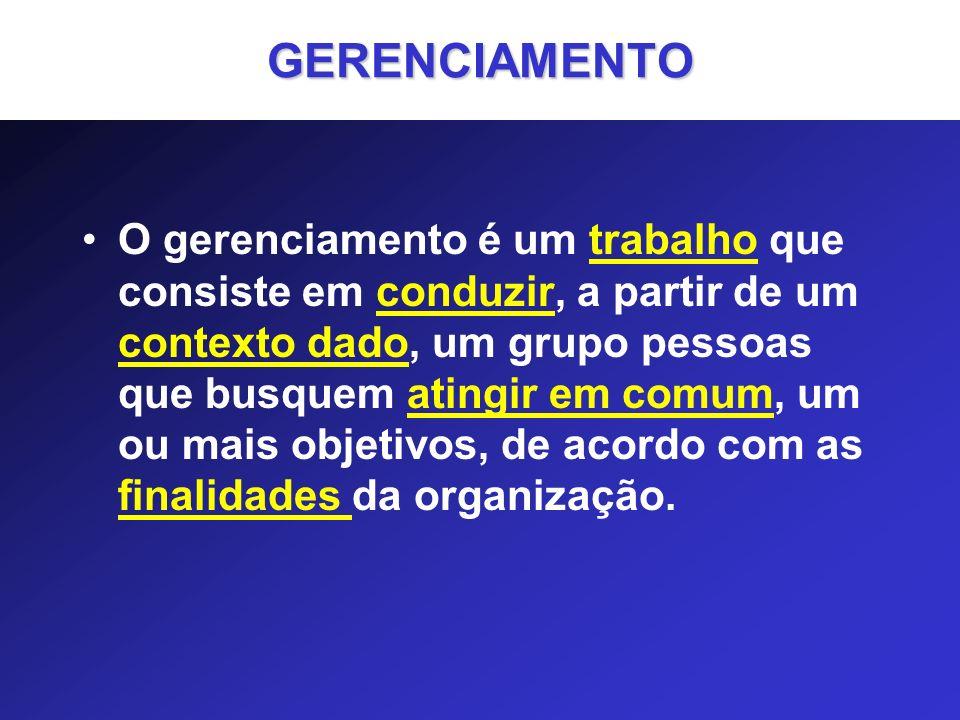 GERENCIAMENTO