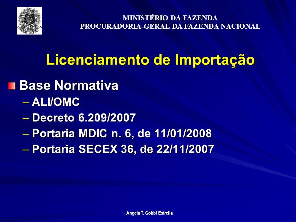 Licenciamento de Importação