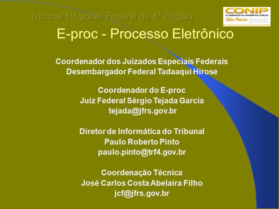 E-proc - Processo Eletrônico