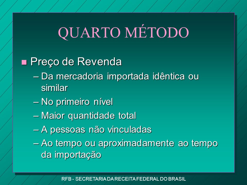 RFB - SECRETARIA DA RECEITA FEDERAL DO BRASIL