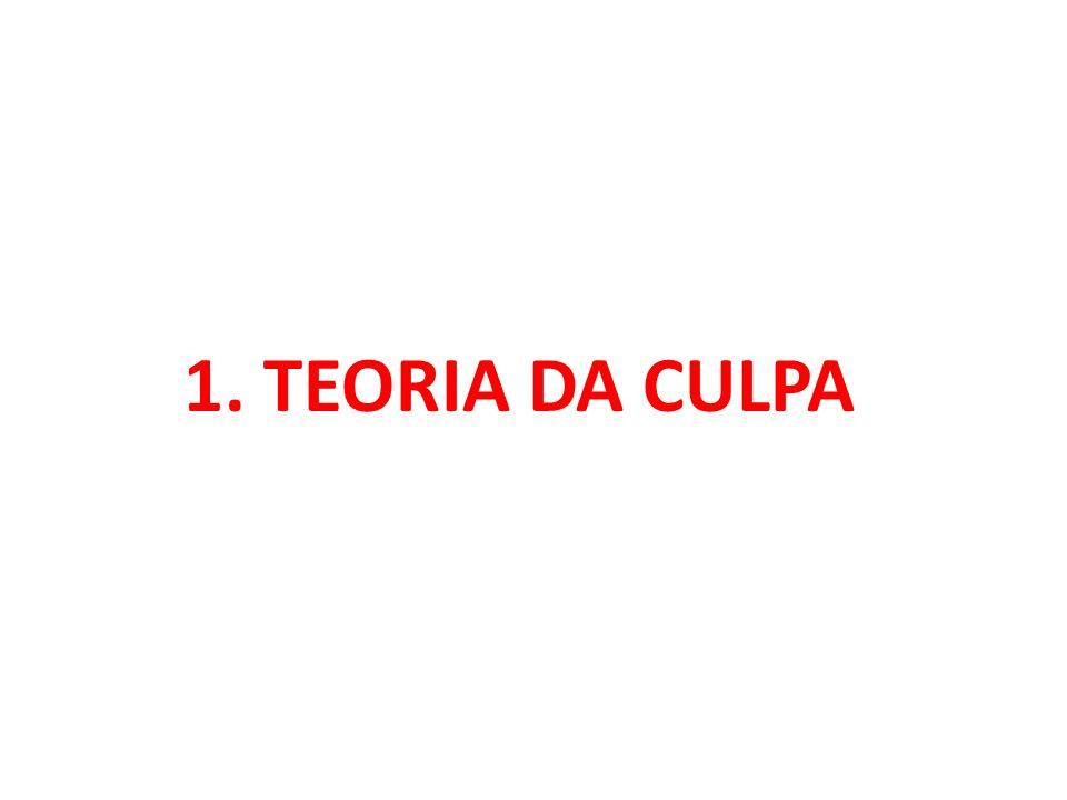1. TEORIA DA CULPA