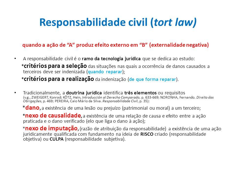 Responsabilidade civil (tort law)