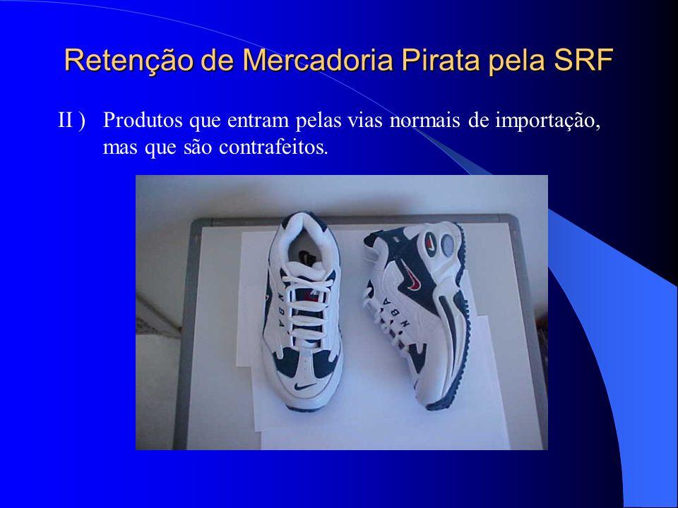 Retenção de Mercadoria Pirata pela SRF